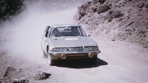 Citroën SM no rali de Marrocos