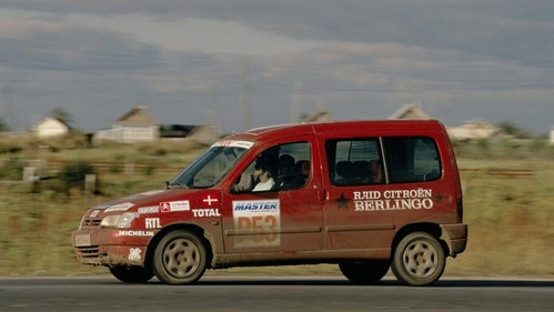 Raid international Citroën Berlingo : De Paris a Moscou